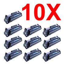 Kit 10 Peças Toner Compatível Hp Q2612a Q2612 2612a 2612 12a