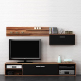 Modular Moderno Rack Panel Tv Lcd Romina1 Living Mega-cell