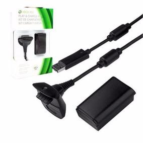 Xbox 360-bateria Recarregável + Cabo Carregador P/ Controle