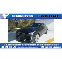 2015 Cadillac Cts Premium 3.6lts 321hp Aut Gris