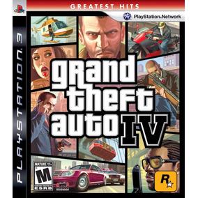 Grand Theft Auto 4 Ps3 Nuevo Sellado Envio Gratis