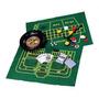 Roleta Na Caixa Fichas - 5 Jogos Em 1 Baralho Poker Cassino