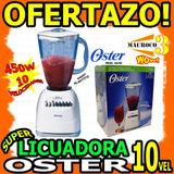 Wow Licuadora Oster 10 Velocidades 450w Vaso Plastico Unicas