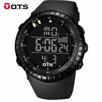 Relógio Digital Militar Ots 50 Mm Corrida Mergulho Suunto