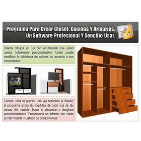 Diseno de muebles closets y cocinas ecatepec en for Software para diseno de muebles y optimizacion de corte gratis