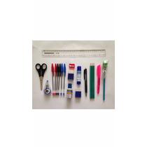 Kit De Material Escolar Masterprint - 20 Itens