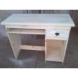 Muebles De Pino Mesa/escritorio De Pc 1.00 Mt Monte Grande