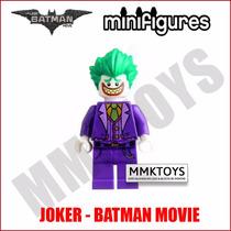 Minifigure Batman Movie Joker Coringa Filme Super Herói Lego