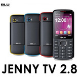 Celular Simples Barato Blu Jenny Tv 2.8 Camera Fm Bluetooth