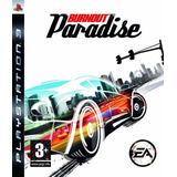 Burnout Paradise Ps3 Fisico Original Sellado Importado