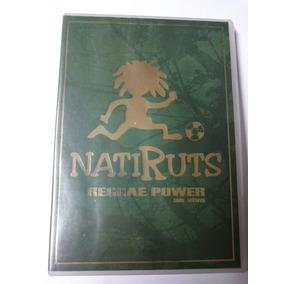 Dvd Natiruts Regae Power - Original Impecável Completo