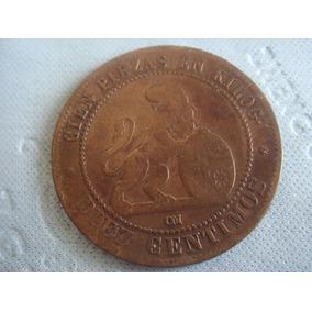España : 10 Centimos 1870