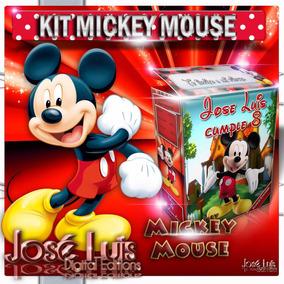 Mickey Mouse Invitaciones Kit Imprimible Y Mas Jose Luis