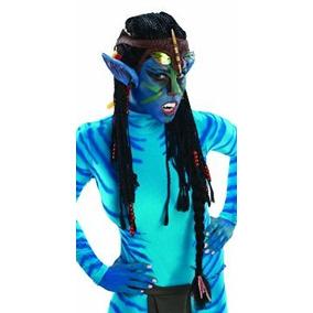 Disfraz Traje Co Avatar Deluxe Peluca Y Los Oídos De Rubie,