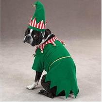 Disfraz Para Perro Traje Del Perro - Duende De Santa Pet Ve