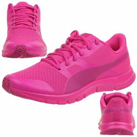 Tenis Puma Flexracer Rosa Tallas Grandes Nuevo 2016