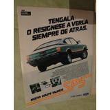 Publicidad Ford Taunus Coupe Sp5 Año 1983