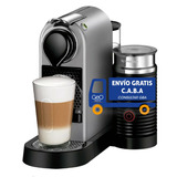 Cafetera Espresso Nespresso Citiz & Milk Plateado
