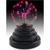 Lampara Bola De Plasma Luz Con Rayos Electrica Usb Y Pila