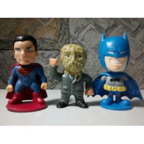 Miniaturas Dc Lote C/ 3 - Superman, Espantalho E Batman
