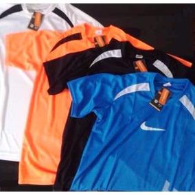 Camisetas Kit C/ 05 Camisas Dry Fit Nike Academia Atacado