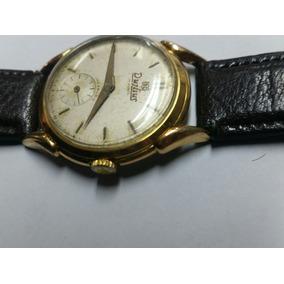 Relógio Antigo Dujlius Swiss A Corda Pata De Caranguejo