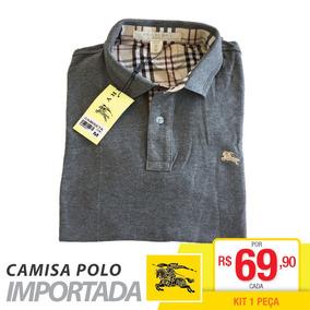 Polo Importada Masculina Burberry Oferta Barato