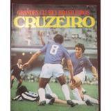 Revista Grandes Clubes Brasileiros 1971 Cruzeiro Com Poster