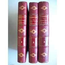 Lamartine Cristobal Colon Ed. 1867 Tomos 1,3 Y 4 Grabados