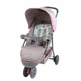 Carrinho De Bebê Triciclo 3 Rodas Baby Style