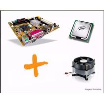 Kit Placa Mae 775 Ddr2+ Pentium 4 3.0+ 512 Memoria Cabo