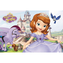Painel Decorativo Festa Infantil Princesinha Sofia (mod2)