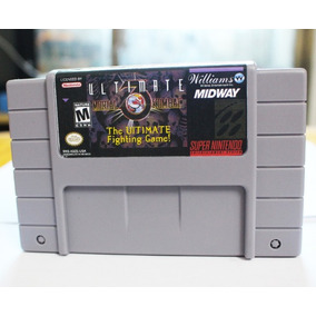 Cartucho Mortal Kombat 3 Ultimate Mk3 Super Nintendo - Novo