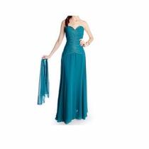Vestido Longo De Festa - Manequim 38 A 42