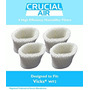 4 Vicks Wf2 Humidifier Filters; Fits Vicks V3500n, V3100, V