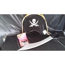 Halloween Disfraz Pirata Sombrero ,espada Y Parche
