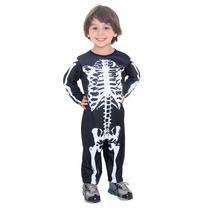 Disfraz Halloween Esqueleto Para Bebe Mundo Manias