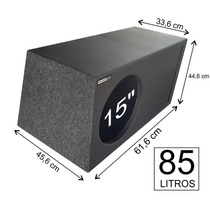 Pelego Box Caixa De Graves 1 X 15 Bravox E2k 900watts 85 L