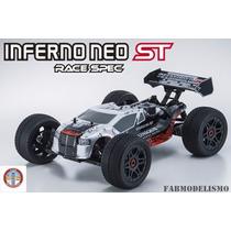 Automodelo Kyosho Inferno Neo St Truggy Motor Ke25 Completo