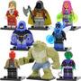 Set Raven Robin Jason Beetle Killercroc Compatible Con Lego