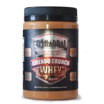 Kit Com 5 Amendo Crunch Whey Pasta Amendoim Crocante 1kg