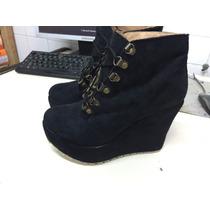 Zapato De Mujer Con Plataforma, Liquidación