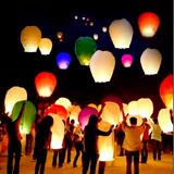 Globos Aéreos Luminosos O Lamparas Chinas, Globos De Cantoya