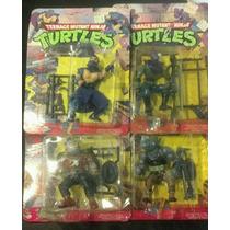Tortugas Ninjas Tmnt Lote 4 Villanos No Playmates