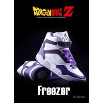 Tenis De Freezer Dragon Ball Z Originales Con Licencia Toei