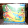 Pileta Inflable Ocean Intex Tobogan Accesorios