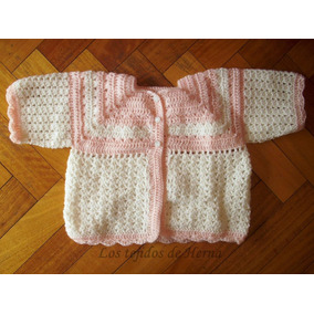 Saquito Para Bebé - Tejido Artesanal - Regalo Baby Shower