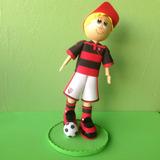 Boneco Torcedor Do Flamengo Em Eva 3d 24cm
