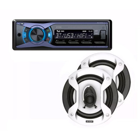 Auto Stereo X-view Ca-1000xs Bluetooth + Parlantes Gtz650