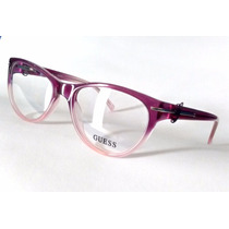 Óculos De Grau Guess Feminino Original Roxo E Lilás